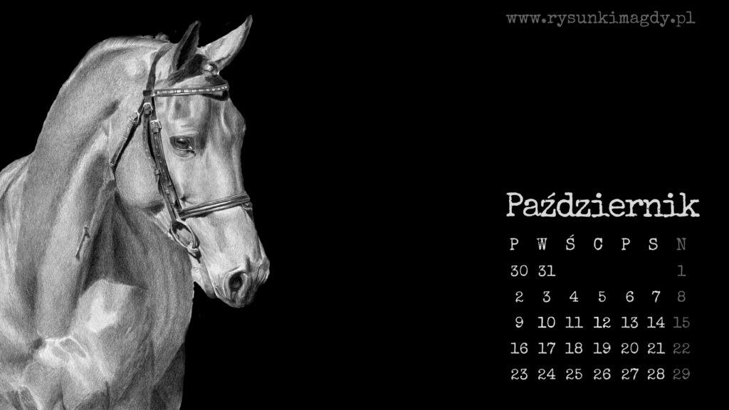 Kalendarz na pulpit, pazdziernik 2017