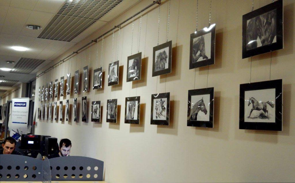 Wernisaz w Bibliotece UWM w Olsztynie