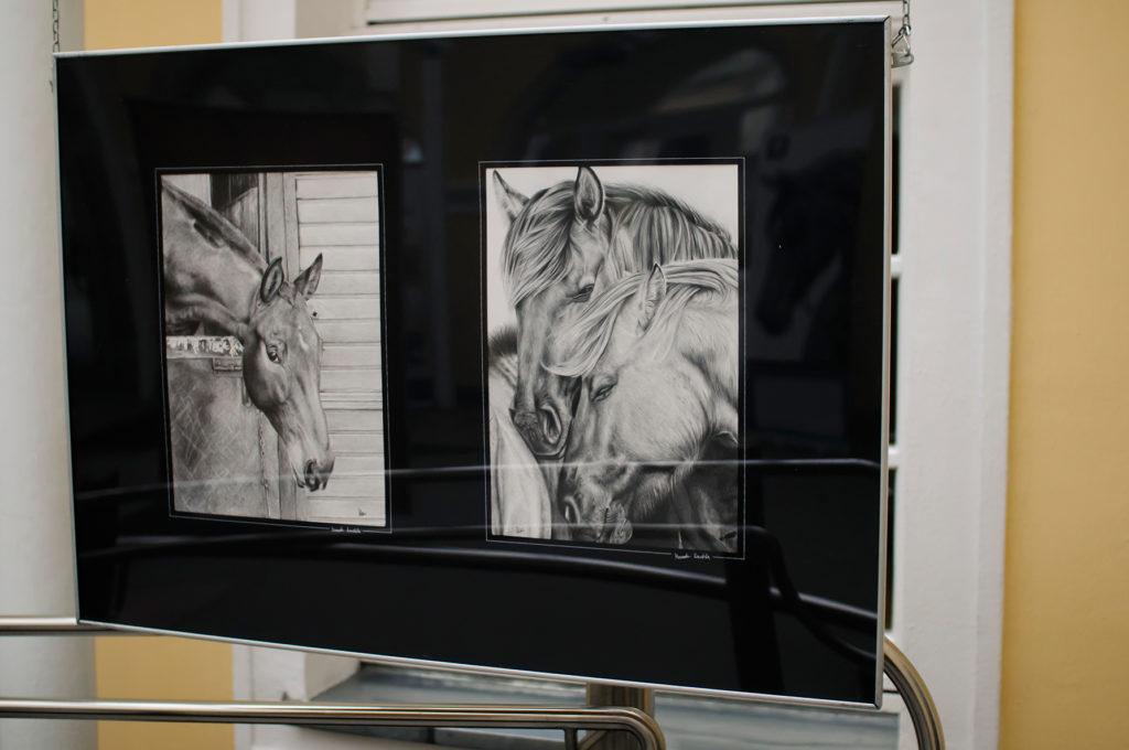 Relacja w wystawy w galerii Stary Olsztyn, zdjęcie autorstwa basi Piotrowskiej.