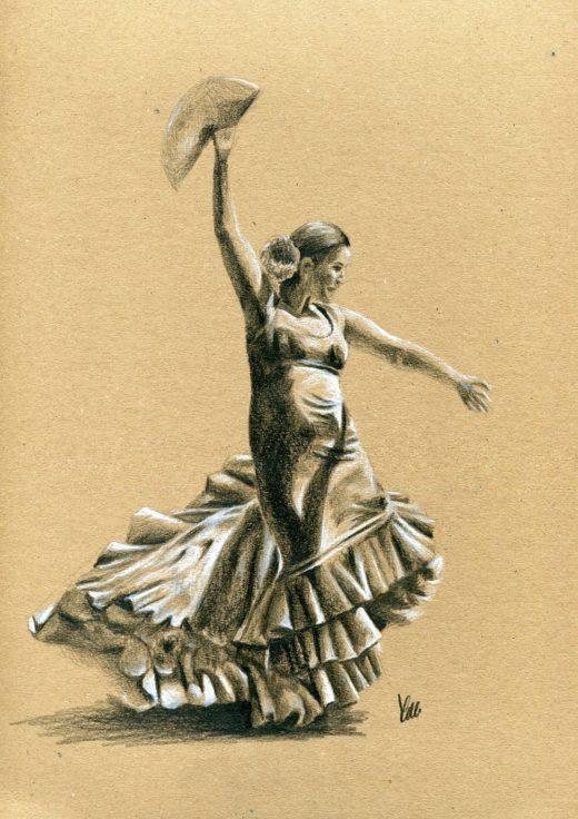Tancerka Flamenco Magdalena Siwecka.